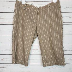 Symmetry Striped Bermuda Shorts